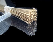 Gold Filled Head Pins,25 Pc,  26g 14k Gold Filled Flat Head Pins, 1.5 inch