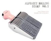SALE, Rolling Stamp Set - Alphabet