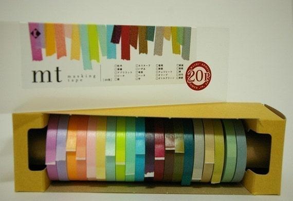 Masking Tape - Set of 20 (7mm wide, 15m length)
