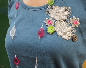 "SALE ! - ""Summer Candy"" Necklace"