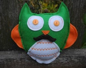 Sanchez, the Moustachioed Owl