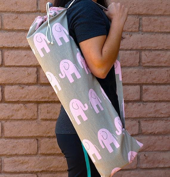 PINK ELEPHANTS Yoga Mat Bag