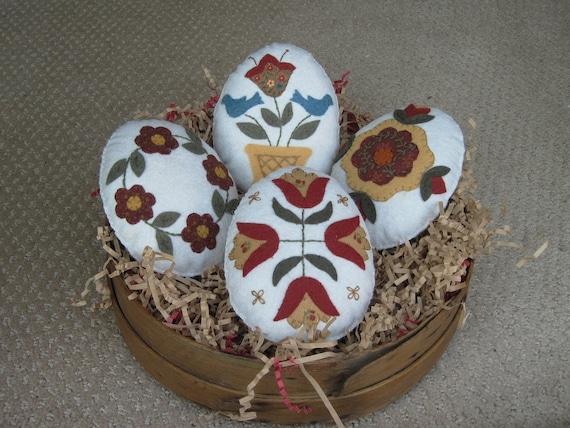 Easter Egg Bowl Fillers (Quilt motifs)