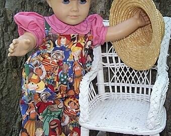 All the Little Children American Girl overalls