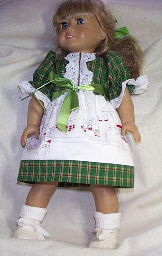 Main Street dress for American Girl
