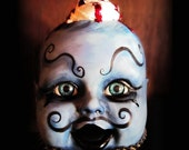 Deadly Dapper Creepy Cupcake Kid Carnivality Cry Baby Series Strange Odd Unusual Art Doll cocteam LARGE