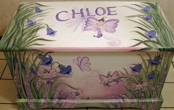 Fairy Toy Chest Custom Design