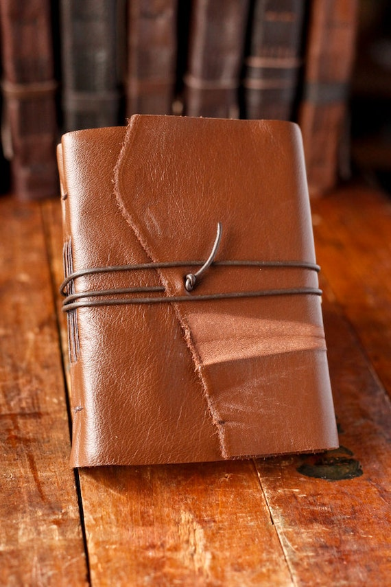 Rugged Traveler- Leather Journal