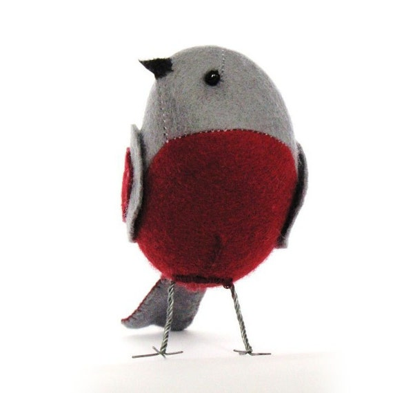 The Curious Robin PDF Pattern and Instructions --INSTANT DOWNLOAD--