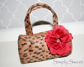 SALE - Ready to Ship - Adorable Animal Print Toddler Purse - My 1st Purse - Diva