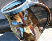 Pottery Mug... Midnight Garden