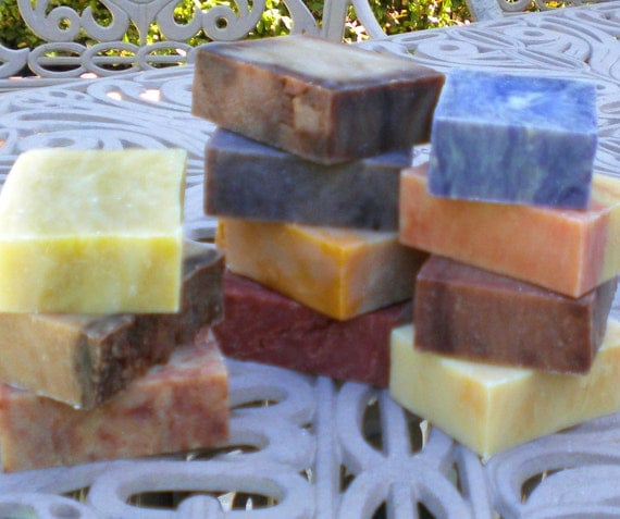 Soap Box Surprise Five Cold Process Soaps with Free Shipping