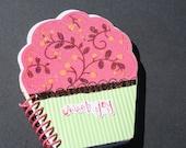 Little Sweet Joy Cupcake Note Pad