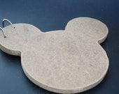 Handmade Blank Mouse Wooden Album