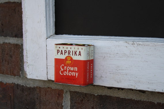 Reclaimed Window Chalkboard a Spice Can Chalk Holder