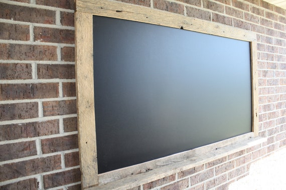 YOUR Custom Extra Large 43 x 60 Barn Wood Chalkboard Perfect for Your Home, Office, or Wedding