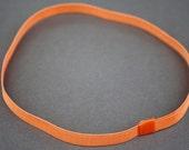 Tangerine Grosgrain Stretch Headband