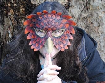 SALE Red Phoenix mask