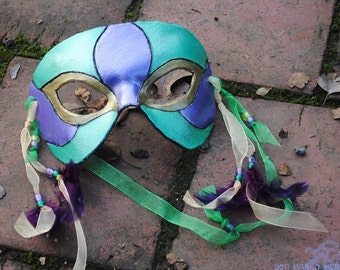 SALE- Mardi Gras Mask