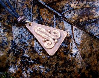 Abstract Aztec Fertility Symbol SALE