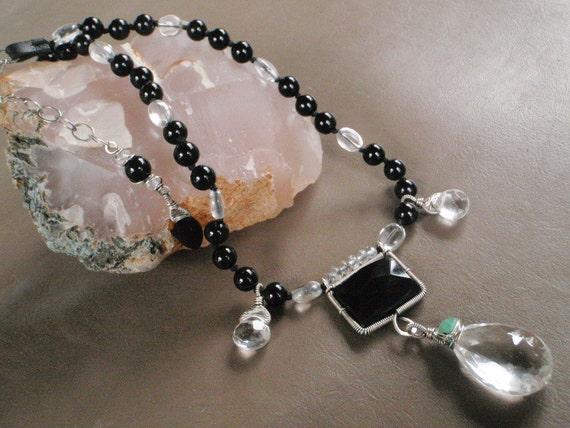 SALE - High Contrast Necklace
