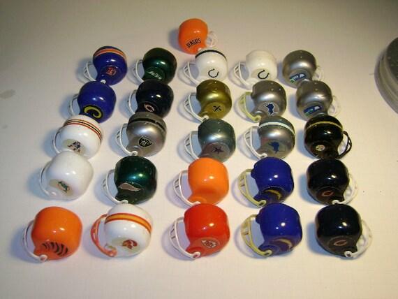 Vintage 70s Football / Gumball Machine helmets