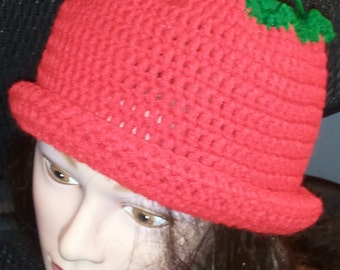 Succulent strawberry hat - Free Shipping