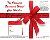 Cup Holder Gift Certificate