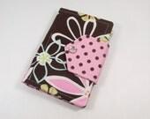 Chocolate Brown Daisy Dreams Mini Note Pad Holder