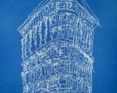Blue Flatiron Building
