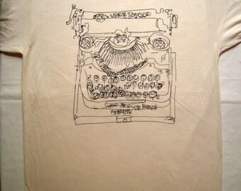 Typewriter shirt