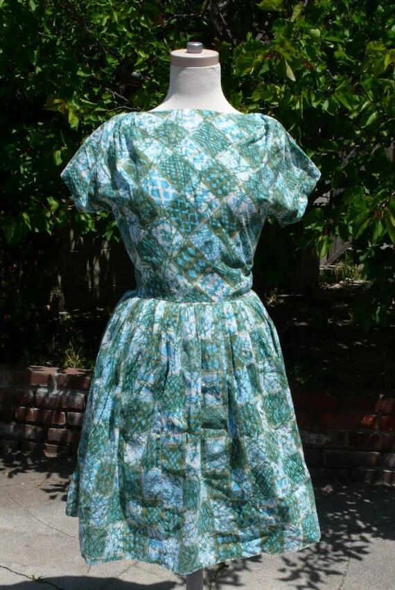 Batik 50s Sundress S M