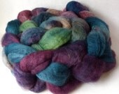 Ruination - hand dyed bluefaced leicester roving, 4 oz.
