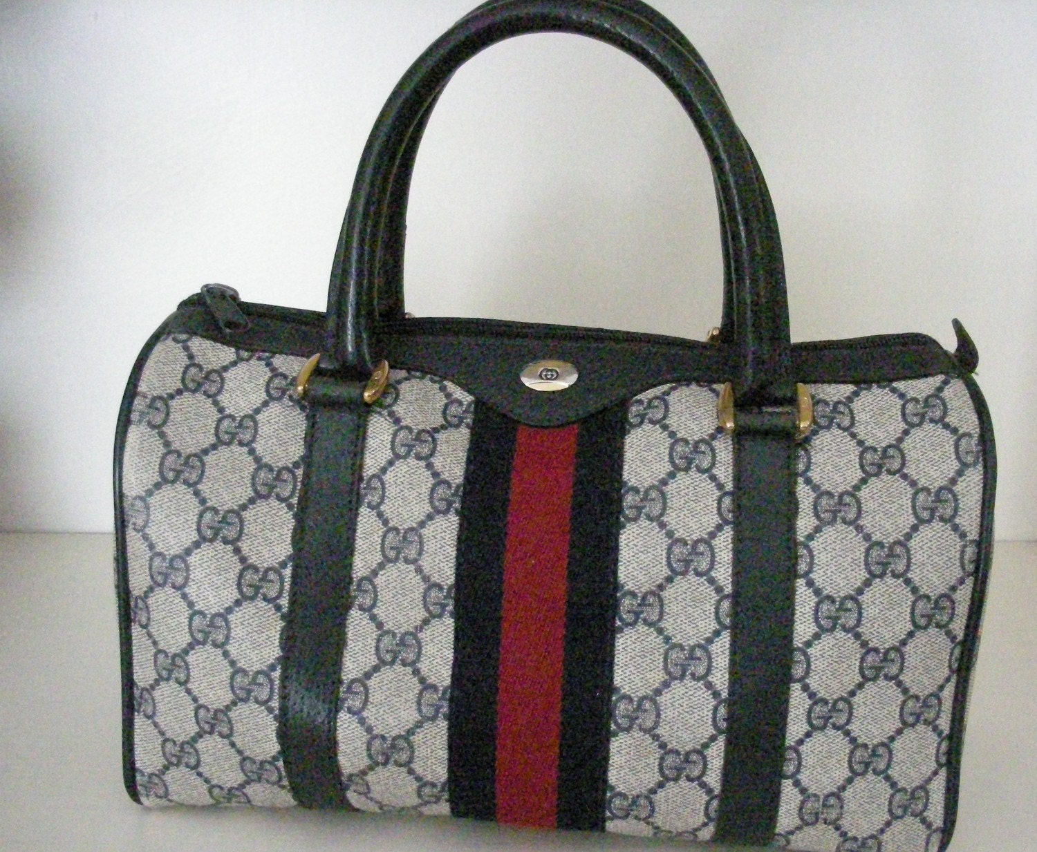 84e1331124a7 Vintage Blue Gucci Purse | Stanford Center for Opportunity Policy in ...