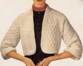 Madison Shrug Sweater Crochet Pattern 723014