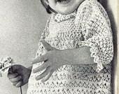Story Book Dress Crochet Pattern 723127