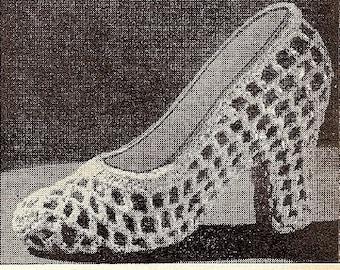 Crochet Pattern Shoe Favor 723012