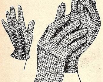 Gloves Crochet Pattern 1949 723025