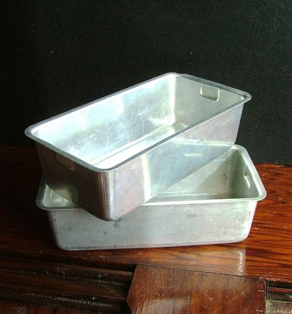 Vintage Mirro Aluminum Loaf Pans