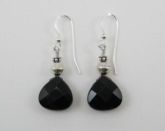 Black Onyx Earrings (E70)