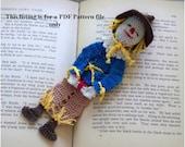 scarecrow of oz crochet pattern PDF file