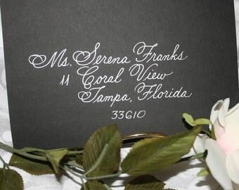 DISOUNT Calligraphy Citadel Script Wedding Envelope Addressing