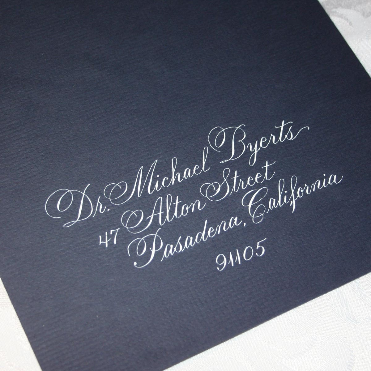 Calligraphy Wedding Envelope Addressing By Hand Citadel Script