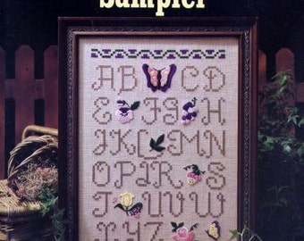 All Things Beautiful Sampler Cross Stitch Pattern Leaflet by Leta Sullins Leisure Arts