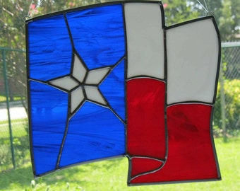 Texas Flag Suncatcher