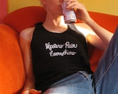 Tanktop - 'Hipsters Ruin Everything' - American Apparel Fine Jersey Tank Top