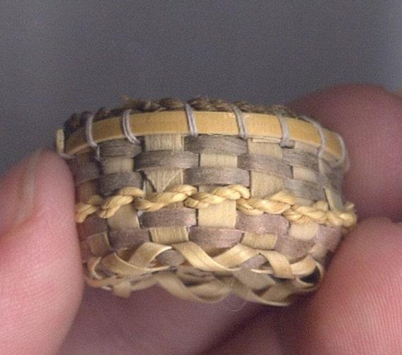 Mini Appalachian work basket
