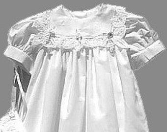 Battenburg Christening Gown