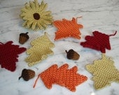 Autumn Mix Crochet Pattern Set