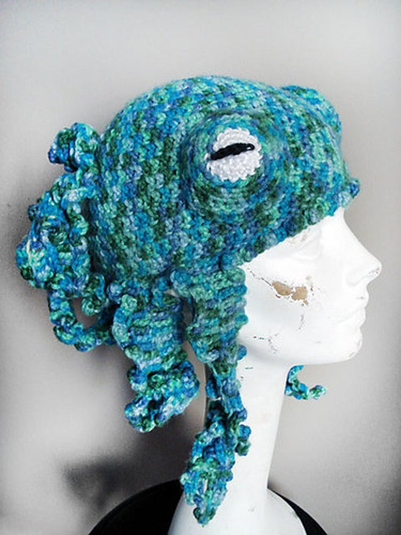 Octo-Hat Crochet Pattern